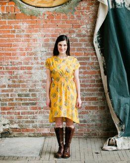 April Rhodes Staple Dress Pattern // Holm Sown