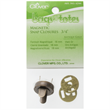 Clover magnetic bag clasp - 18mm