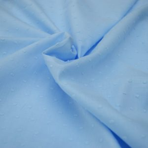 Clip Dot Cotton // Pale Blue // Holm Sown