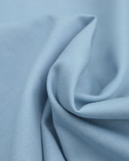 Cotton Chambray - Pale Blue // Holm Sown