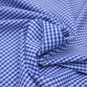 Mini Check Gingham // Royal Blue // Holm Sown