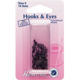 Hemline hook and eye - black - H401_0