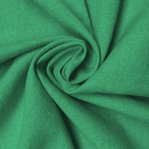 Holm Sown: Linen & Cotton Mix - Emerald Green | dressmaking fabric