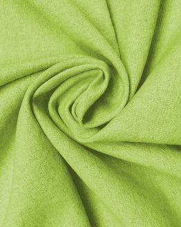 Holm Sown: Linen & Cotton Mix - Leaf Green | dressmaking fabric