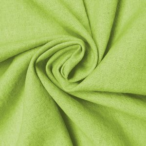 Holm Sown: Linen & Cotton Mix - Leaf Green | dressmaking fabric