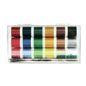Holm Sown Online Fabric & Haberdashery Shop - Madeira Rayon No.40 Thread Gift Box (18 x 200m)