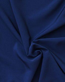 Peachskin luxury crepe fabric // Ink Midnight Blue // Holm Sown