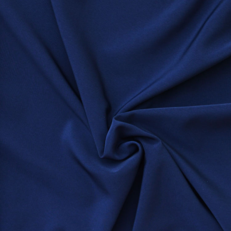 Peachskin luxury crepe fabric // Ink Midnight Blue // Holm Sown