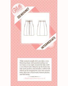 Colette Sewing Patterns // 1005 Beignet Skirt // pattern envelope // Holm Sown