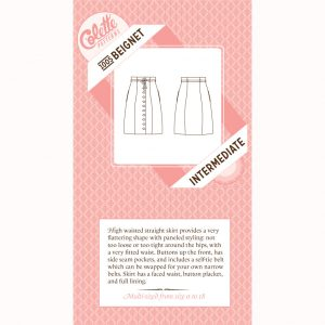 Colette Sewing Patterns // 1005 Beignet Skirt // pattern envelope // Holm Sown