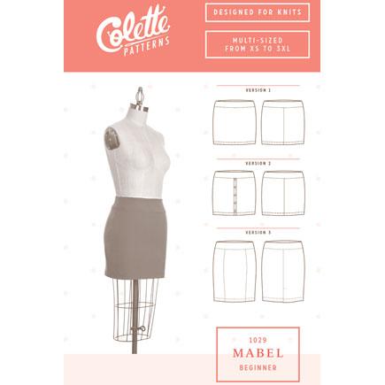 Colette Sewing Patterns // 1029 Mabel Skirt // pattern envelope // Holm Sown