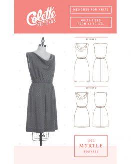 Colette Sewing Patterns // 1030 Myrtle Dress // pattern envelope // Holm Sown