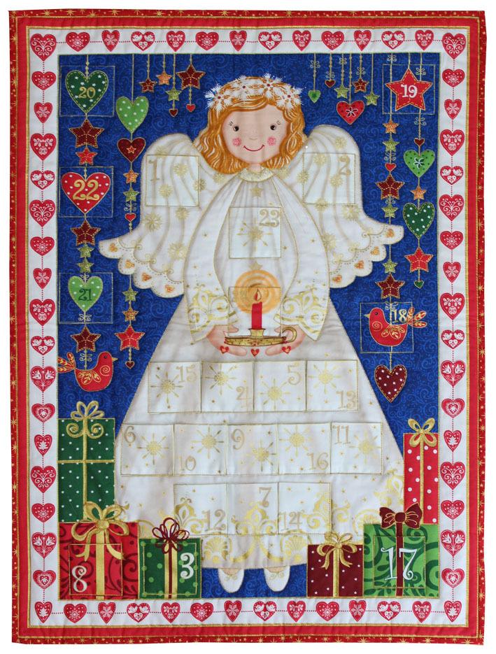 Angel Advent Panel Kit