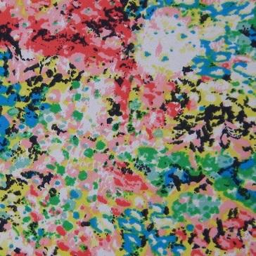 Summer Floral Polyester Crepe