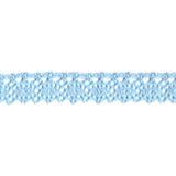 Cotton Lace Trim - Sky