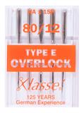 Klasse Machine Needles Type E Overlock 80/12