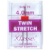 Klasse Machine Needles Twin Stretch 80/4mm