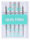 Klasse Machine Needles Quilting 80/12