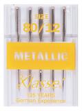 Klasse Machine Needles Metallic 80/12