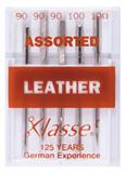 Klasse Machine Needles Leather Assorted