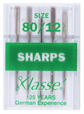 Klasse Machine Needles Sharps 80/12