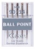 Klasse Machine Needles Ballpoint 90/14