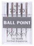 Klasse Machine Needles Ballpoint 70/10