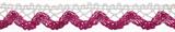 Cotton Lace Trim - Clematis
