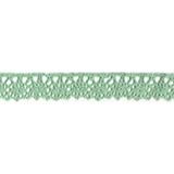 Cotton Lace Trim - Mint
