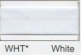 Bias Binding - White (12mm)