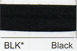 Bias Binding - Black (12mm)
