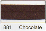 Bias Binding - Chocolate (12mm)