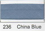 Bias Binding - China Blue (12mm)