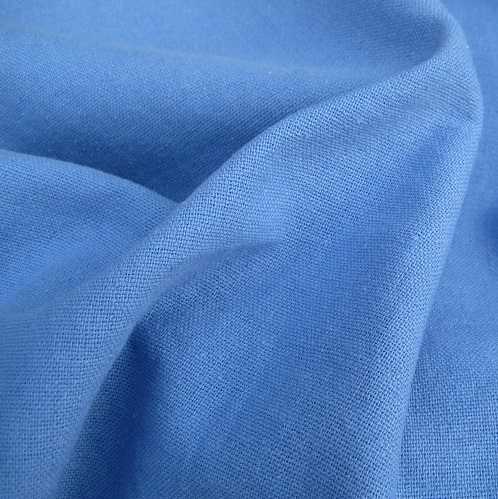 Periwinkle Cotton / Linen Mix