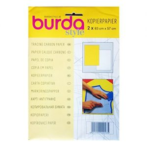 Burda tracing carbon paper