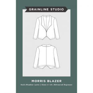Grainline Studio // 14001 Morris Blazer // pattern envelope // Holm Sown