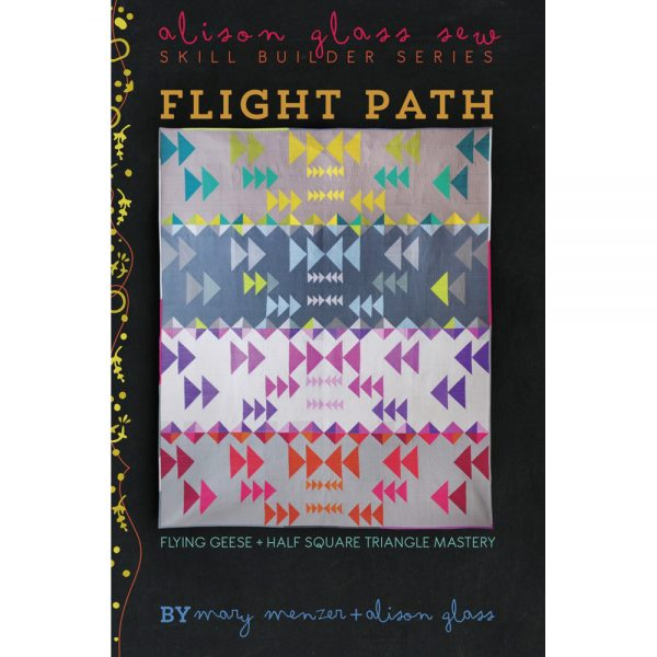 Alison Glass Flight Path Quilt Pattern // Holm Sown