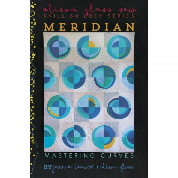 Alison Glass Meridian Quilt Pattern // Holm Sown