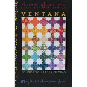 Alison Glass Ventana Quilt Pattern // Holm Sown