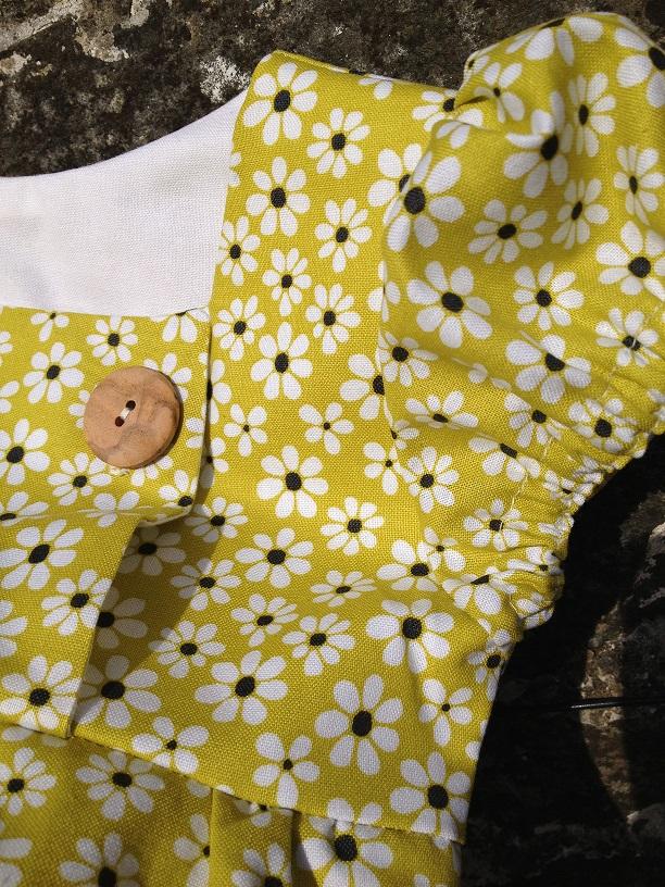 Junebug Dress - sleeve detail