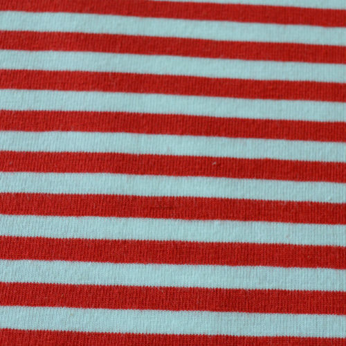 Lillestoff - Red and White Stripe Jersey