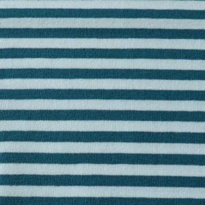 Lillestoff - Blue and White Stripe Jersey