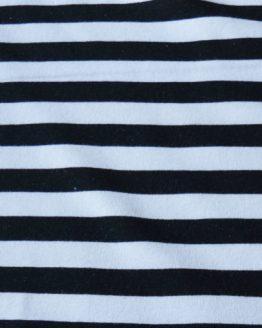 Lillestoff - Black and White Stripe Sweatshirt