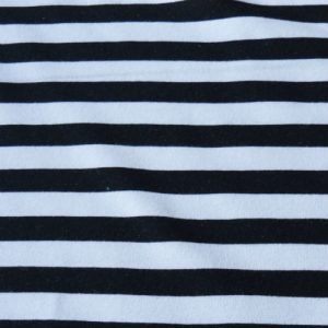 Lillestoff - Black and White Stripe Sweatshirt