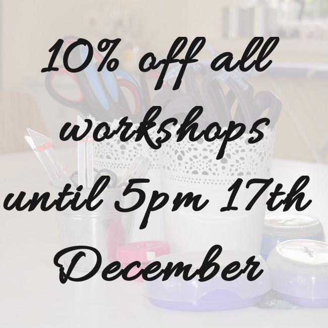 Workshop Sale // Holm Sown