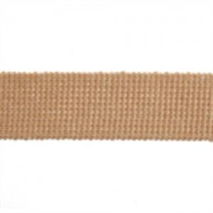 Cotton Acrylic Webbing // ET617 Tan // Holm Sown