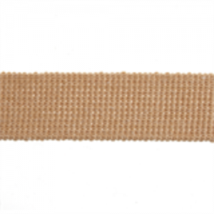 Cotton Acrylic Webbing // ET617 Tan // Holm Sown