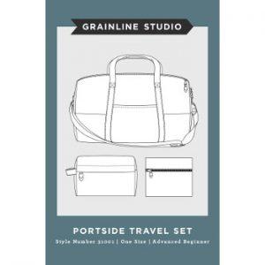 31001 Grainline Studio Portside Travel Set // envelope front // Holm Sown