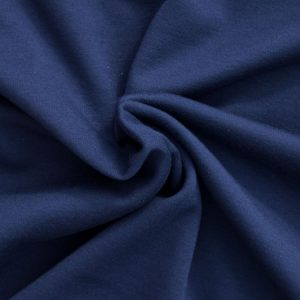 Ponte Roma Fabric // Navy Blue // Holm Sown