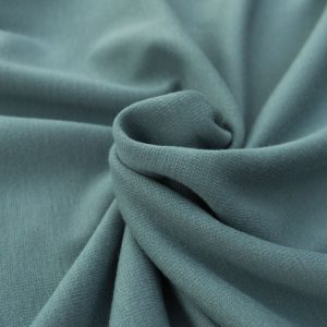 Ponte Roma Fabric // Slate Green // Holm Sown